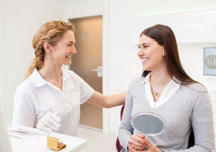 Zahnarztpraxis Katrin Lang - in Regensburg - Wurzelbehandlung - Endodontie