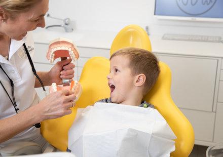 Wichtig: Zahnarzttermine als etwas Selbstverständliches vermitteln